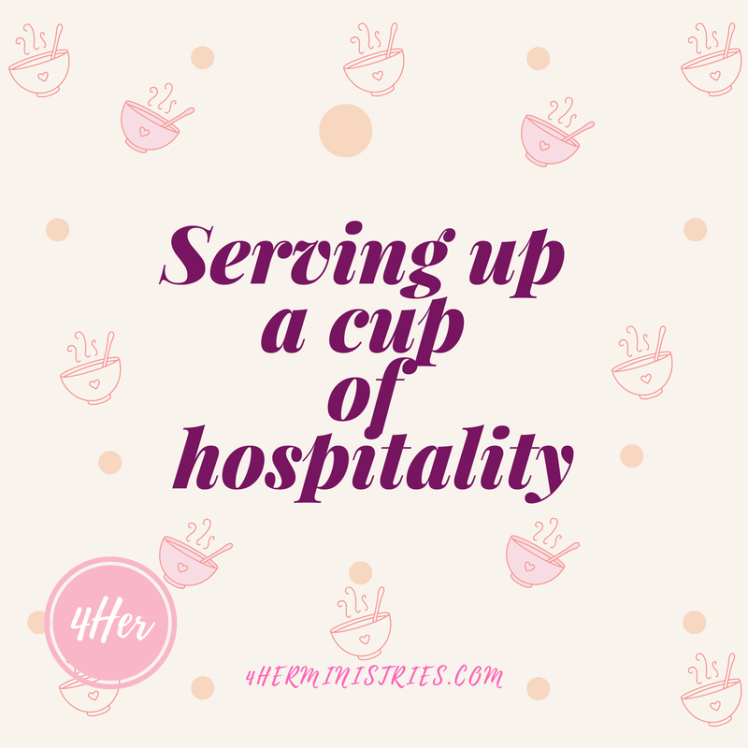 Serving up a cup of hospitality